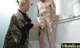Bath Time for Hubby